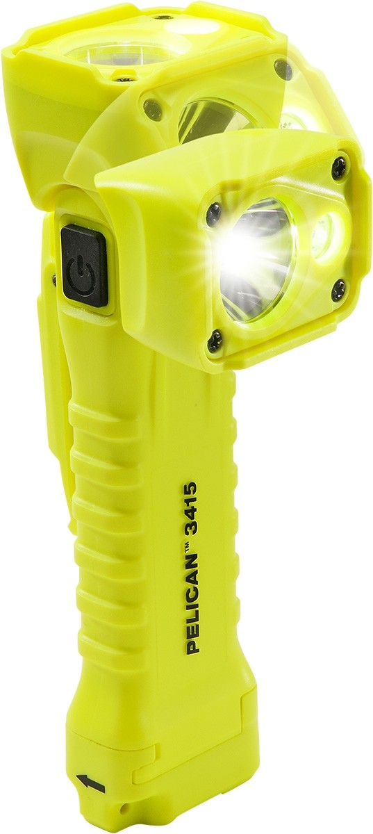 Pelican 3415MiY LED Torch & Right Angled Area Light