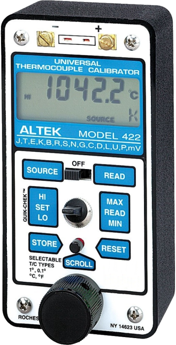 Altek 422 Universal Thermocouple Calibrator
