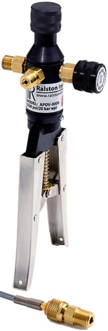 Ralston AP0V Pneumatic Pressure Hand Pump (20 Bar)