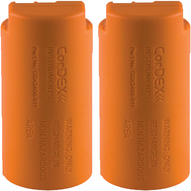 CorDEX ToughPIX II Rechargeable Battery Twin Pack