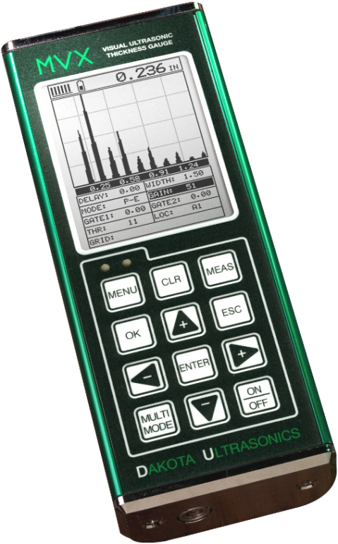 Dakota MVX Visual Ultrasonic Thickness Gauge