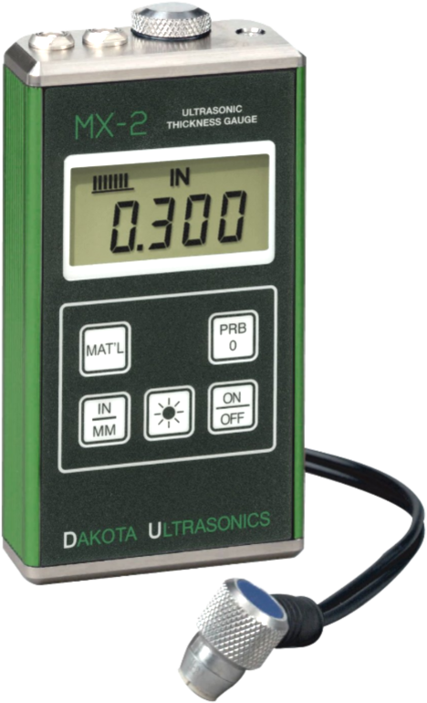Dakota MX-2 Ultrasonic Thickness Gauge