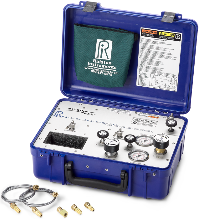 Ralston Nitropak Portable Nitrogen Pressure Calibration Source (210 Bar)