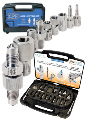 Crystal CPF x NPT Hose & Fittings Kit