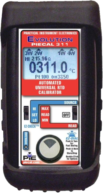 PIECAL 311 Automated RTD Calibrator