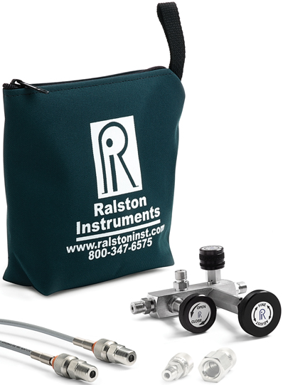 Ralston QSCM Pressure Calibration Manifold (345 Bar, Stainless Steel)