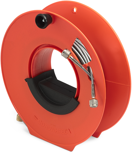 Ralston QSQS-HOS-15M Calibration Hose with Reel (Stainless Steel)