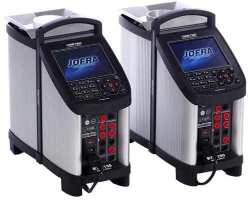 Jofra RTC-158 / 250 Wet / Dry Block Reference Temperature Calibrators