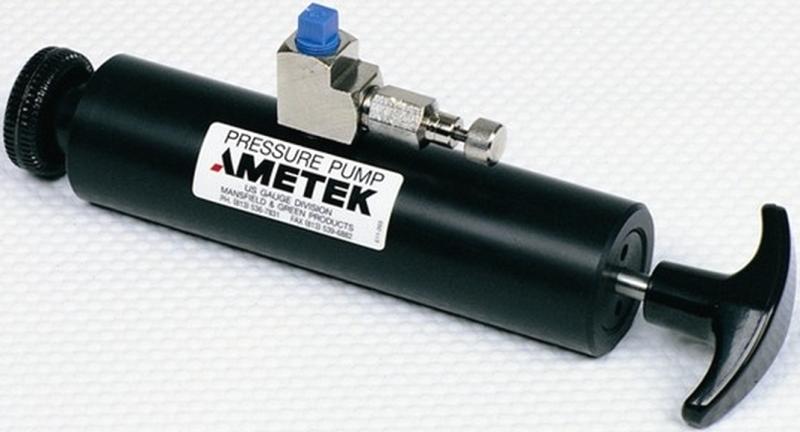 """Ametek T-811 Pneumatic Vacuum Hand Pump (-25"""" Hg)"""