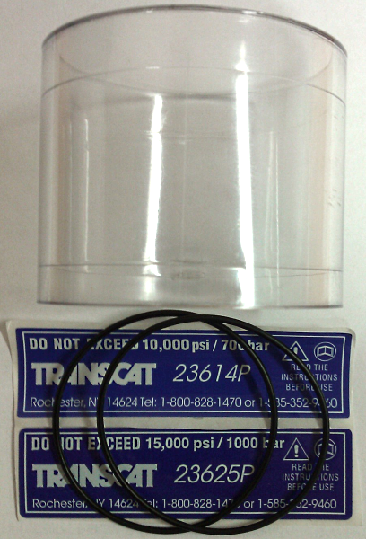 Transcat 23614P / 23625P Pump Reservoir Repair Kit