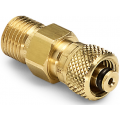 "Ralston QTHA-2TB0 Quick-Test Male x 1/4"" Tube Female (Brass)"