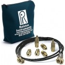 Ralston / Transtek Quick-Test 1m Hose, NPT & Tube Fittings Kit (Brass)