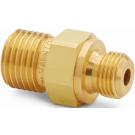 "Ralston QTHA-1MB0-RS Quick-Test Male x 1/8"" BSPP Male (Brass)"
