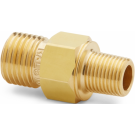 "Ralston QTHA-1MB0-RT Quick-Test Male x 1/8"" BSPT Male (Brass)"