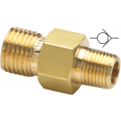 Ralston QTHA-1MB1 - 3000 PSI / 207 Bar - Check Valve - Brass