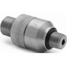 "Ralston QTHA-1MS0-QD Quick Test Male x 1/8"" NPT Male Quick-Connect (Stainless Steel)"