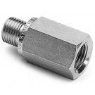 "Ralston QTHA-2FS1 Quick-Test Male x 1/4"" NPT Female (Stainless Steel, Check Valve)"
