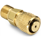 "Ralston QTHA-3TB0 Quick-Test Male x 3/8"" Tube Female (Brass)"