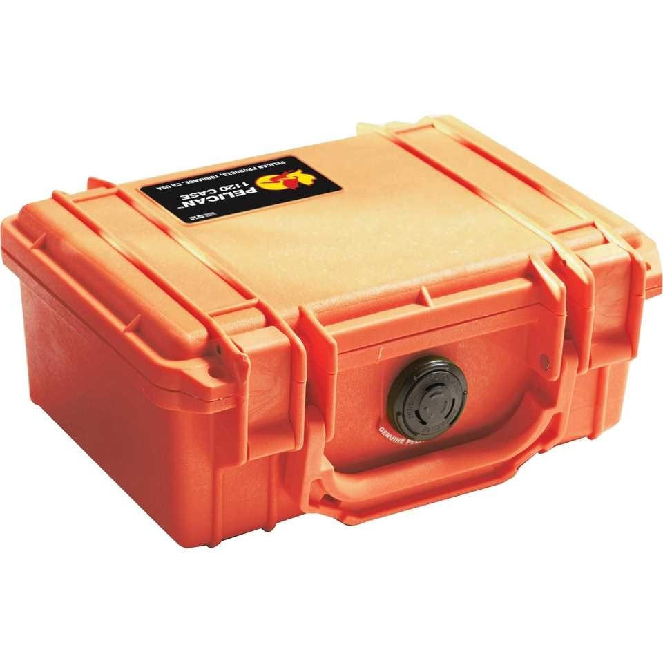 Pelican 1150 Small Carry Case (Orange)