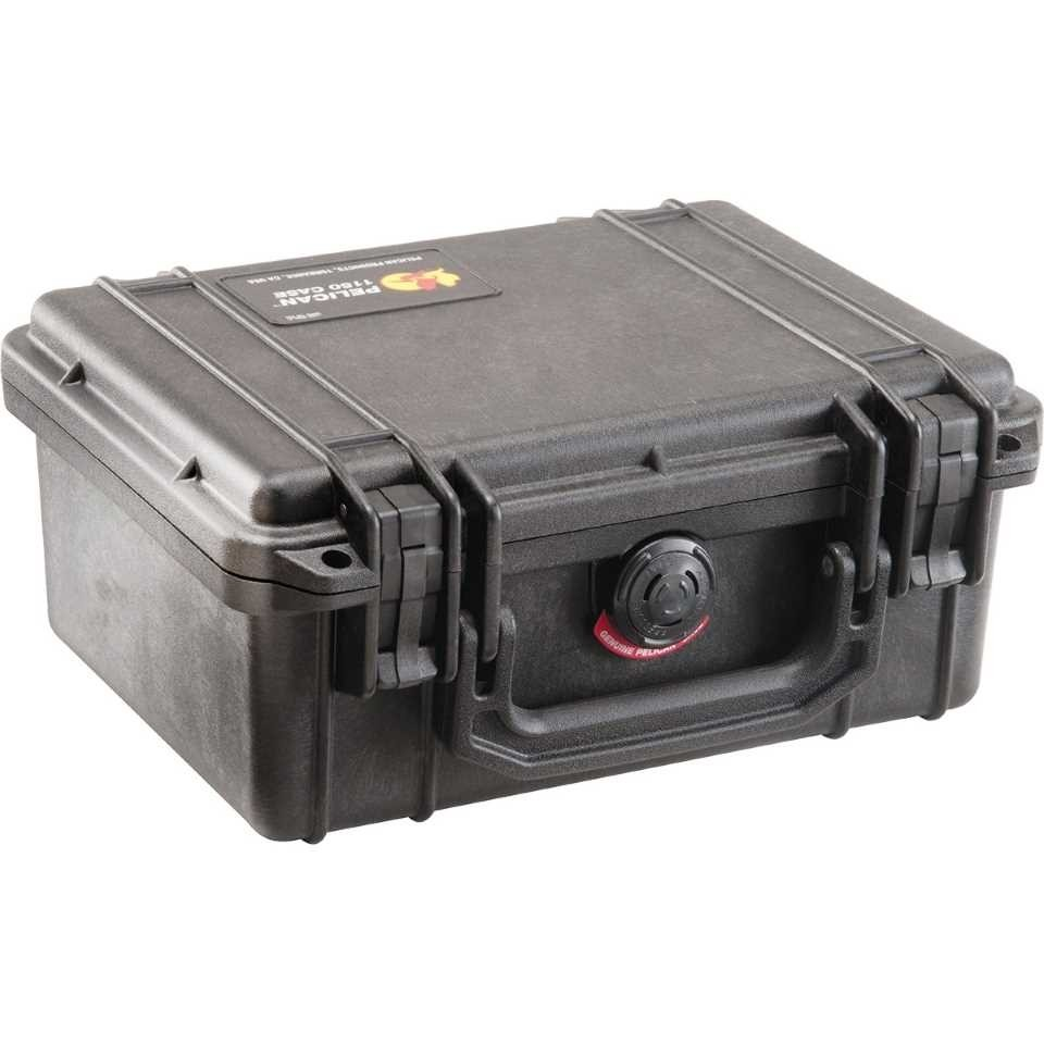 Pelican 1150 Small Carry Case (Black)