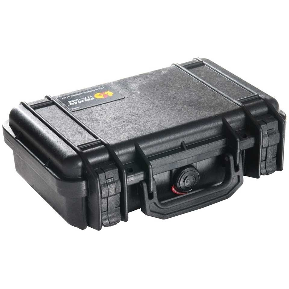 Pelican 1200B Small Carry Case (Black)