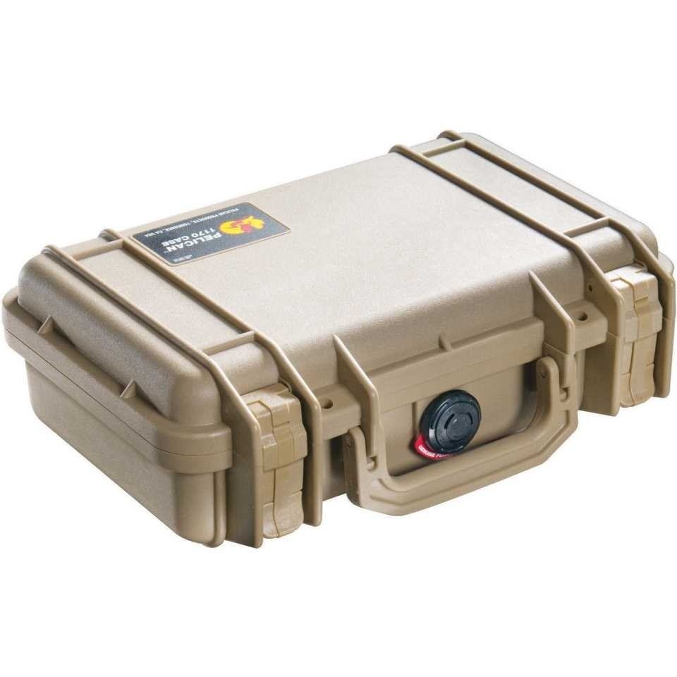 Pelican 1170 Small Carry Case (Desert Tan)