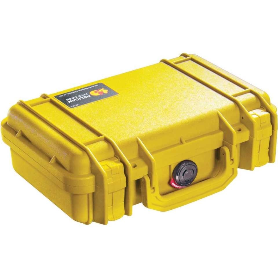 Pelican 1200Y Small Carry Case (Yellow)