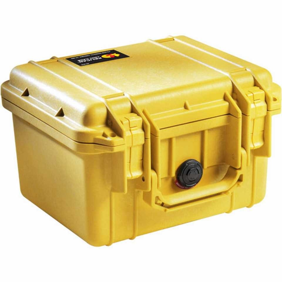 Pelican 1300 Small Carry Case (Yellow)