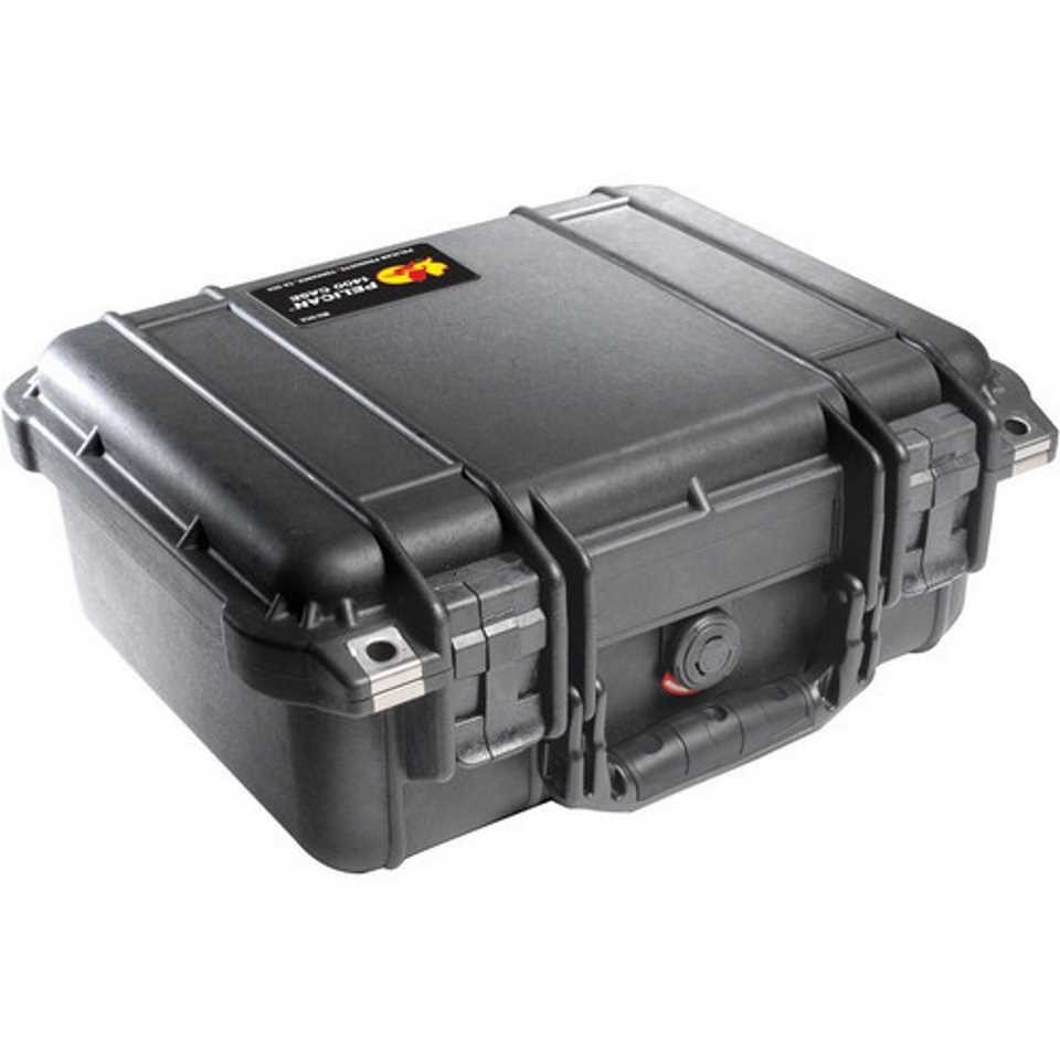 Pelican 1400 Small Carry Case (Black)