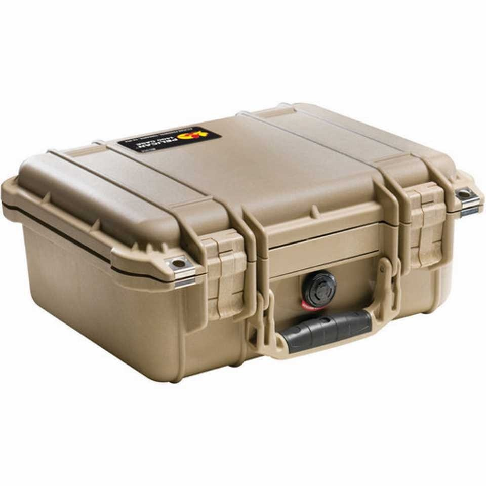 Pelican 1400 Small Carry Case (Desert Tan)