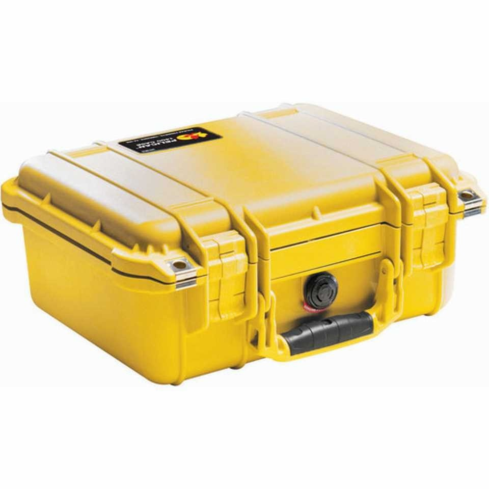 Pelican 1400 Small Carry Case (Yellow)