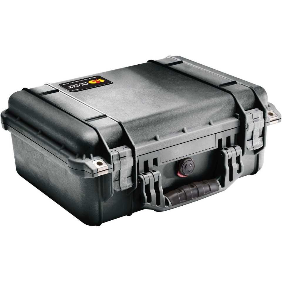 Pelican 1450 Medium Carry Case (Black)