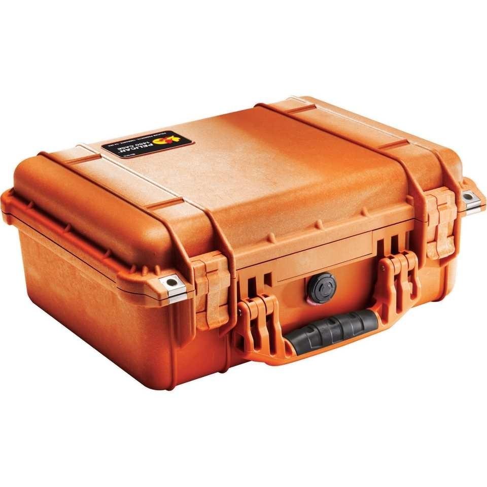 Pelican 1450 Medium Carry Case (Orange)