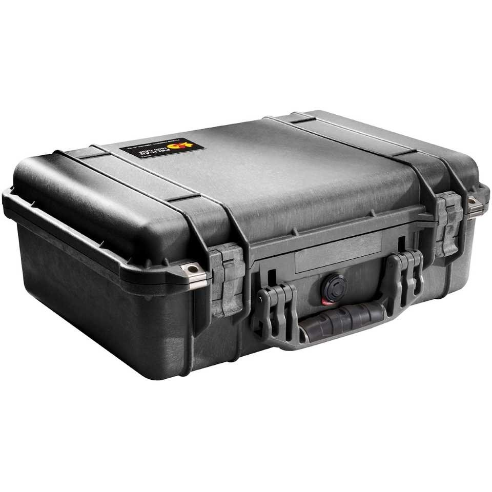 Pelican 1500 Medium Carry Case (Black)