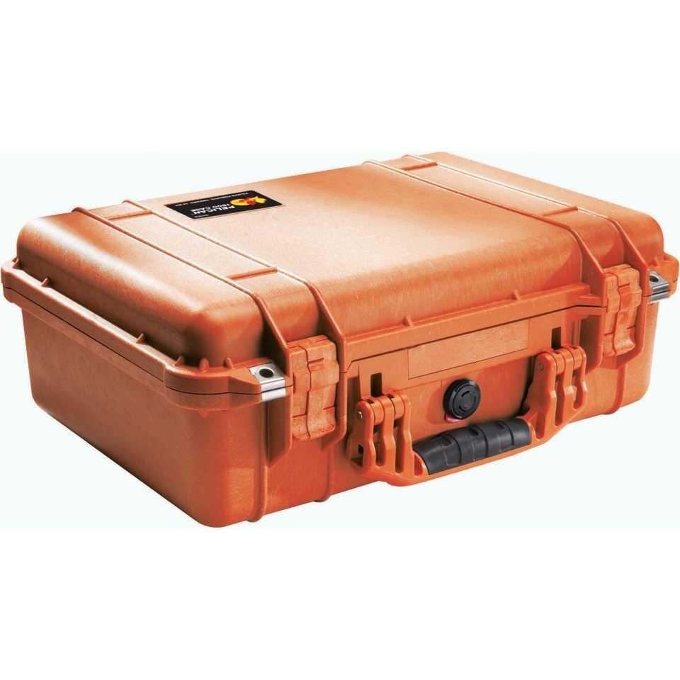 Pelican 1500 Medium Carry Case (Orange)