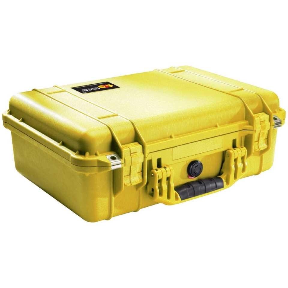 Pelican 1500 Medium Carry Case (Yellow)