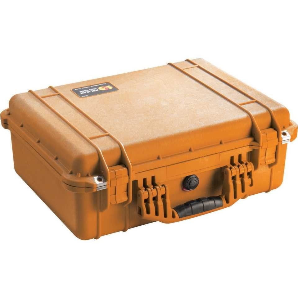 Pelican 1520 Medium Carry Case (Orange)