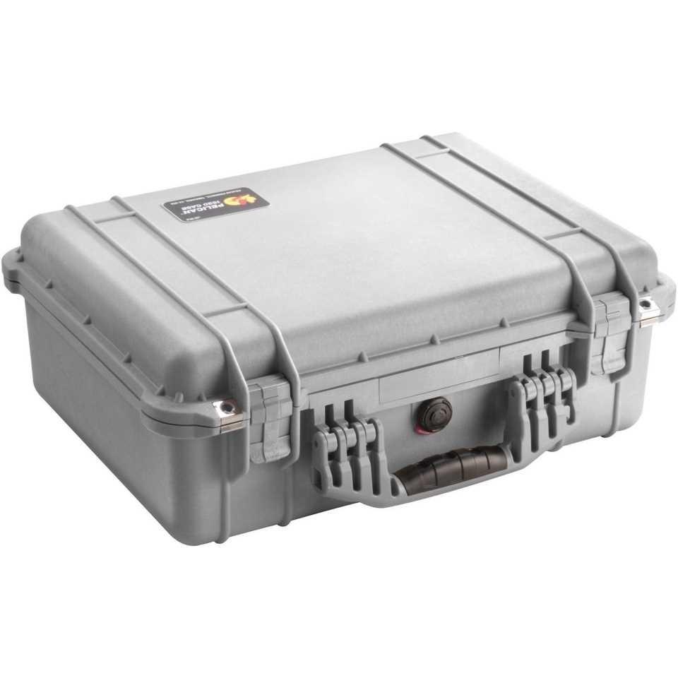 Pelican 1520 Medium Carry Case (Silver)