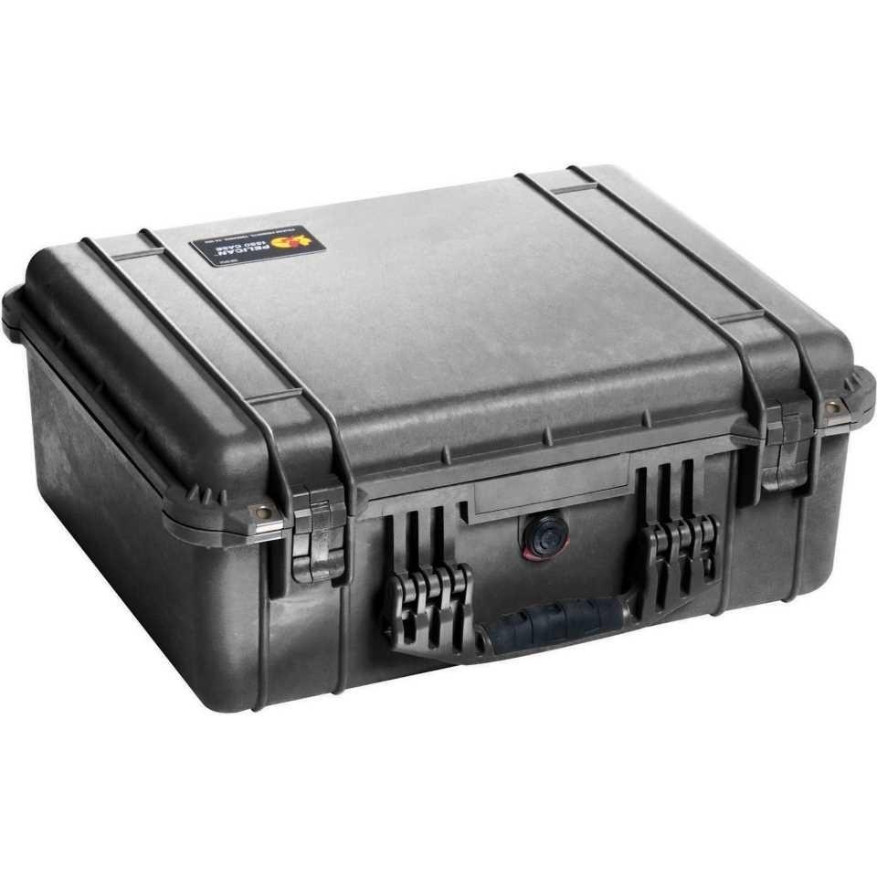 Pelican 1550 Medium Carry Case (Black)