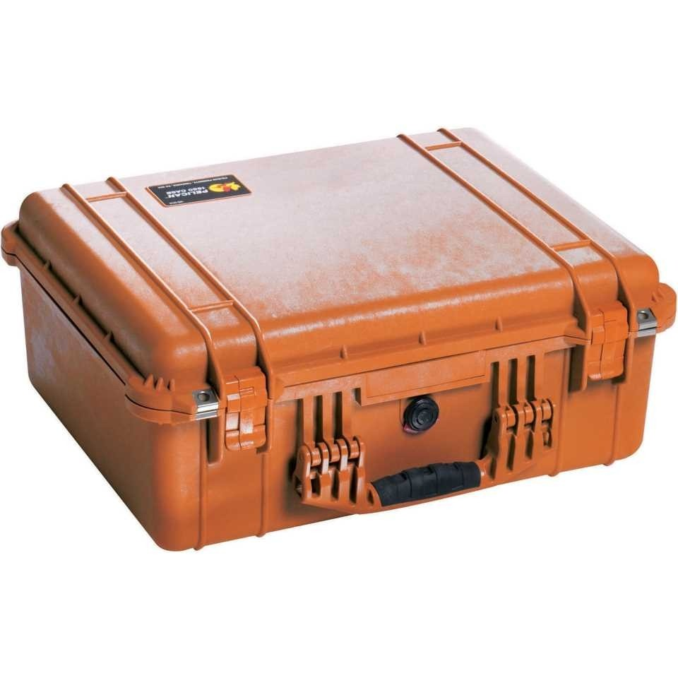 Pelican 1550 Medium Carry Case (Orange)