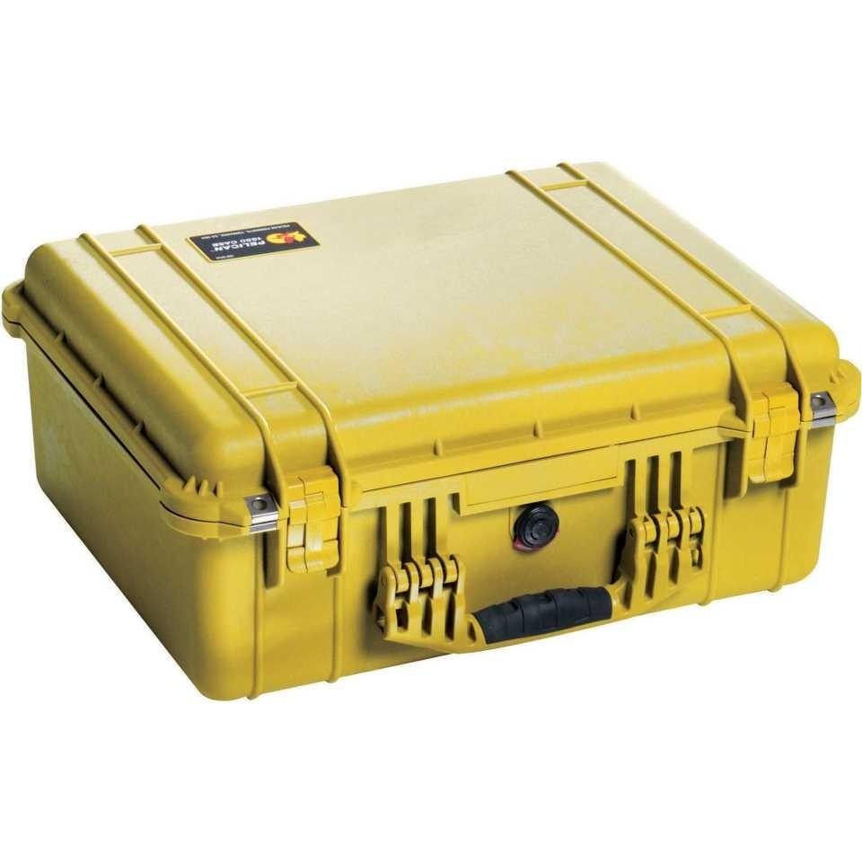 Pelican 1550 Medium Carry Case (Yellow)