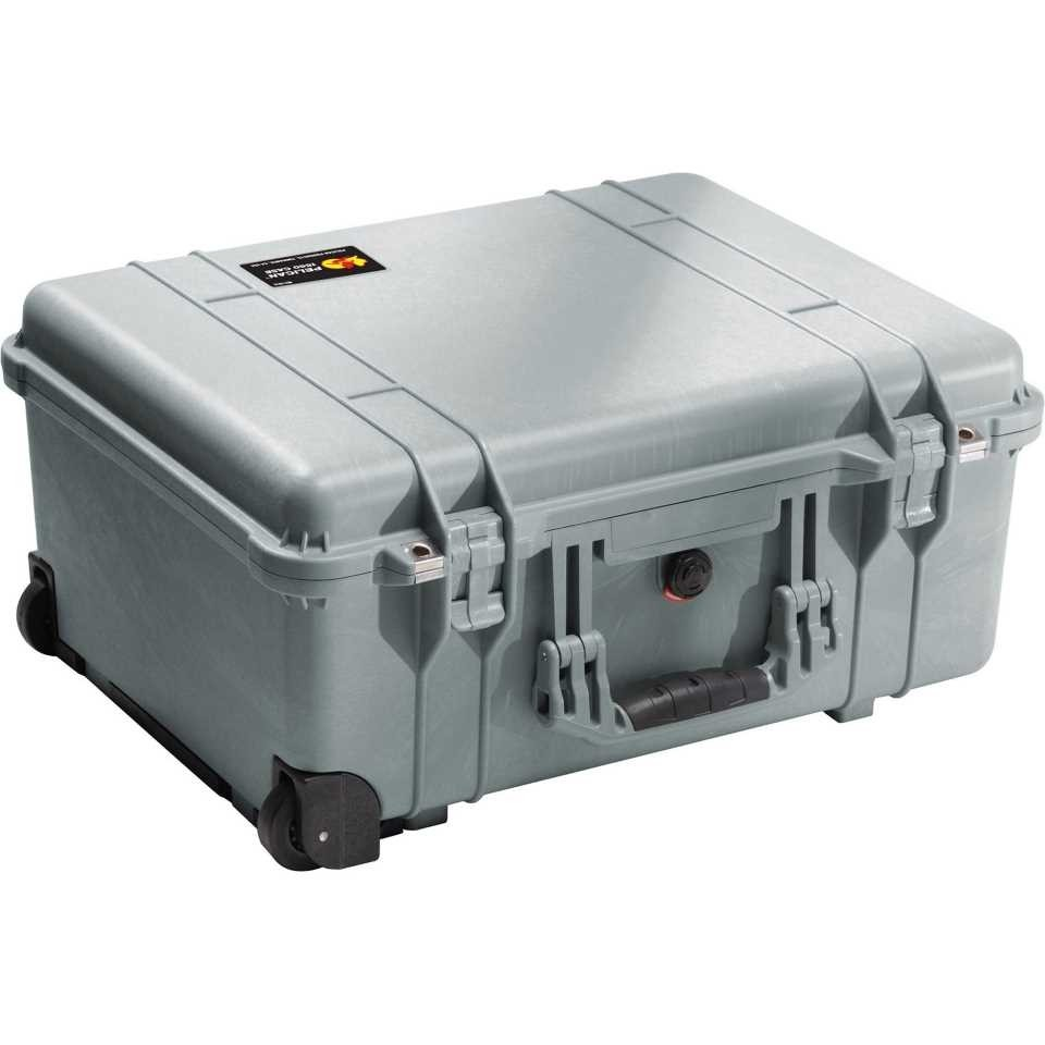 1560S Medium Silver Pelican Case