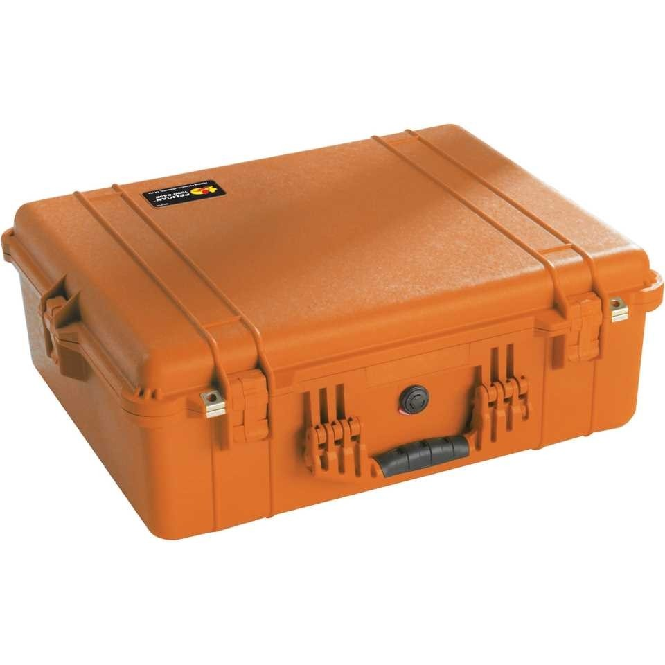 1600O Large Orange Pelican Case