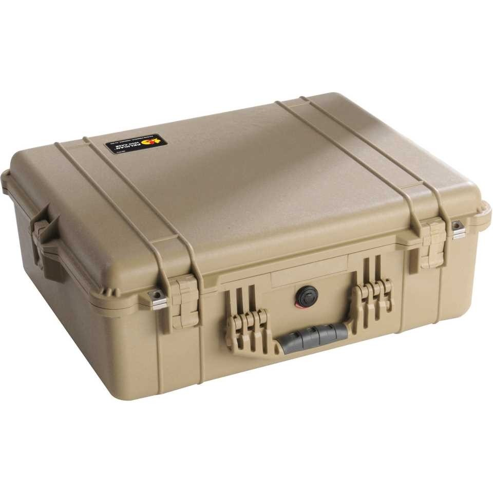 1600DT Large Tan Pelican Case