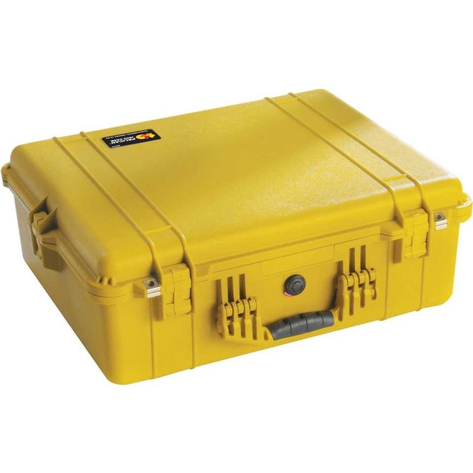 1600Y Large Yellow Pelican Case