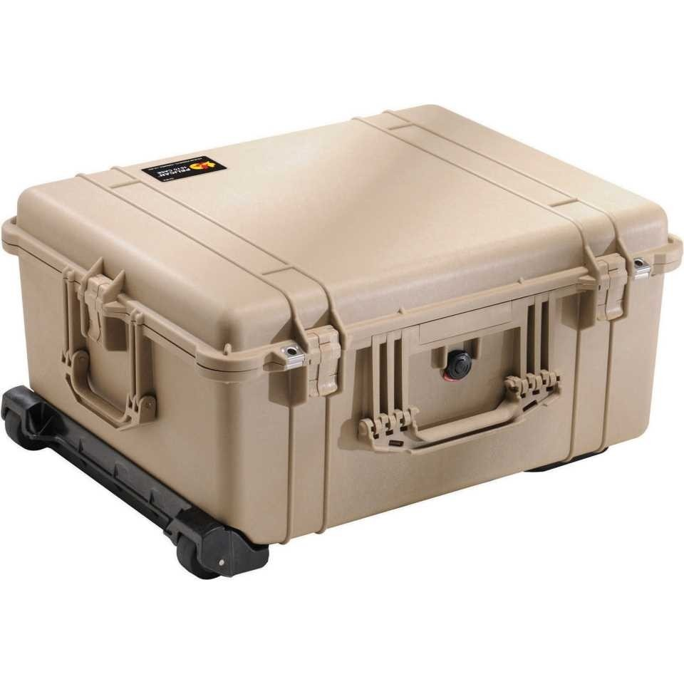 1610DT Large Tan Pelican Case