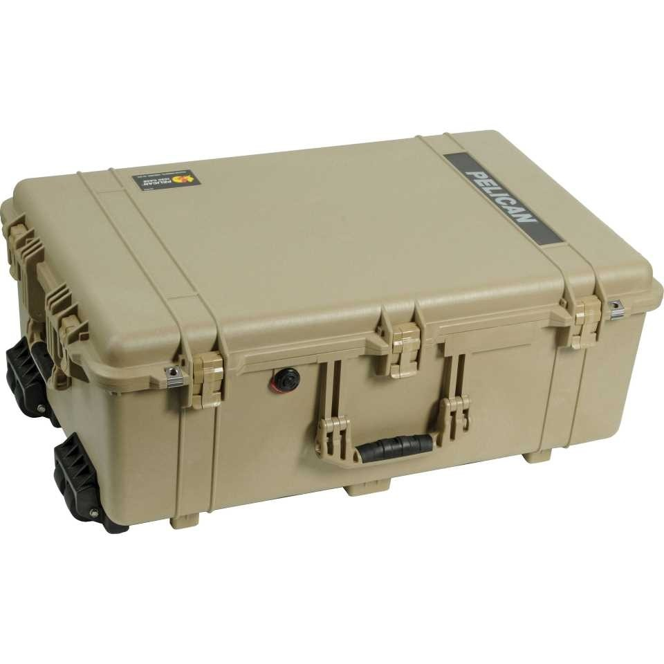1650ADT Large Tan Pelican Case