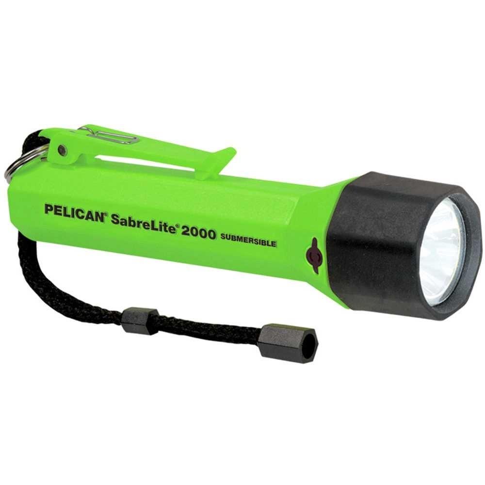 Pelican 2000 SabreLite Torch (Green)
