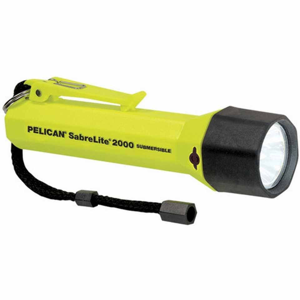 Pelican 2000 SabreLite Torch (Yellow)