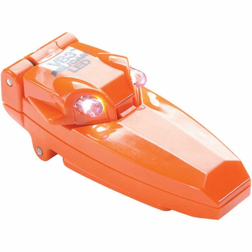 Pelican 2220 VB3 Clip-On Light (Orange)